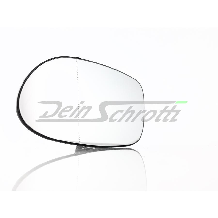 für Spiegelglas Spiegel Glas  Mercedes W163 ML 2001-2005 links